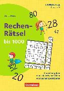 Cover-Bild zu Rechen-Rätsel 3./4. Schuljahr. Rechen-Rätsel bis 1000. Kopiervorlagen von Wehren, Bernd