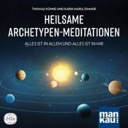 Cover-Bild zu Heilsame Archetypen-Meditationen (2 Audio-CDs) von Künne, Thomas