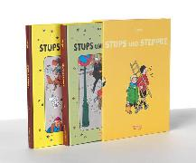 Cover-Bild zu Stups und Steppke, Band 1 und 2 im Schuber von Hergé,