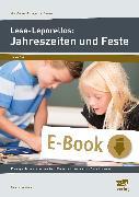 Cover-Bild zu Lese-Leporellos: Jahreszeiten und Feste Kl. 1/2 (eBook) von Neubauer, Annette
