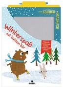 Cover-Bild zu Mein Zaubermalbuch - Winterspaß mit Balduin Bär von Dreier-Brückner, Anja