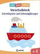 Cover-Bild zu Die neuen Lernspielzwerge - Schreibspiele und Schwungübungen von Loewe Lernen und Rätseln (Hrsg.)