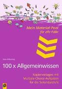 Cover-Bild zu Mein Material-Pool für alle Fälle - 100 x Allgemeinwissen von Wilkening, Nina