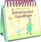 Cover-Bild zu Ries, Johanna (Illustr.): Kribbel krabbel Zappelfinger