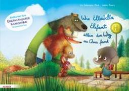 Cover-Bild zu Wie Ellabella Elefant allein den Weg zu Oma fand. Bildkarten fürs Erzähltheater Kamishibai von Schürmann-Mock, Iris