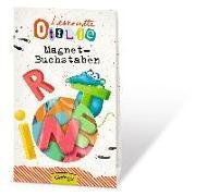 Cover-Bild zu Leseratte Otilie Magnet Buchstaben von Rauers, Wiebke (Illustr.)