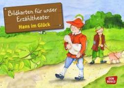 Cover-Bild zu Bildkarten für unser Erzähltheater: Hans im Glück von Grimm, Brüder
