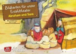 Cover-Bild zu Abraham und Sara. Kamishibai Bildkartenset von Brandt, Susanne