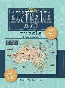 Cover-Bild zu Australia Map Puzzle
