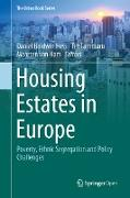 Cover-Bild zu Housing Estates in Europe (eBook) von Hess, Daniel Baldwin (Hrsg.)