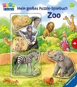 Cover-Bild zu Mein großes Puzzle-Spielbuch Zoo von Möller, Anne