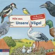 Cover-Bild zu Unsere Vögel von Möller, Anne