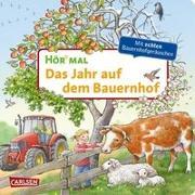 Cover-Bild zu Hör mal (Soundbuch): Das Jahr auf dem Bauernhof von Möller, Anne