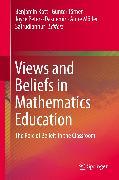 Cover-Bild zu Views and Beliefs in Mathematics Education (eBook) von Törner, Günter (Hrsg.)
