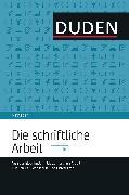 Cover-Bild zu Duden Ratgeber - Die schriftliche Arbeit kompakt