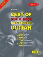 Cover-Bild zu Best of Pop und Rock for Classical Guitar 10 von Scherler, Beat (Komponist)