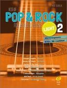 Cover-Bild zu Best of Pop & Rock for Acoustic Guitar light 2 von Scherler, Beat (Komponist)