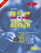 Cover-Bild zu Best Of Pop & Rock for Classical Guitar 2 von Scherler, Beat (Komponist)
