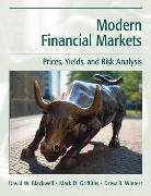 Cover-Bild zu Blackwell, David W.: Modern Financial Markets