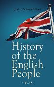 Cover-Bild zu Green, John Richard: History of the English People (Vol. 1-8) (eBook)