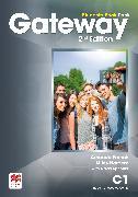 Cover-Bild zu French, Amanda: Gateway 2nd edition C1 Student's Book Pack