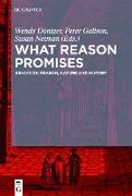 Cover-Bild zu What Reason Promises (eBook) von Galison, Peter (Hrsg.)