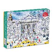 Cover-Bild zu Michael Storrings New York Public Library 1000 Piece Puzzle von Galison