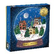 Cover-Bild zu Winter Snow Globe 500 Piece Puzzle von Galison