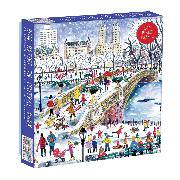 Cover-Bild zu Michael Storrings Bow Bridge In Central Park 500 Piece Puzzle von Galison (Geschaffen)