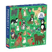 Cover-Bild zu Doodle Dog And Other Mixed Breeds 500 Piece Family Puzzle von Galison
