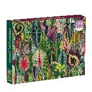 Cover-Bild zu Houseplant Jungle 1000 Piece Puzzle von Galison