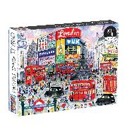 Cover-Bild zu London By Michael Storrings 1000 Piece Puzzle von Galison