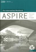 Cover-Bild zu Crossley, Robert: Aspire Pre-Intermediate: Workbook with Audio CD