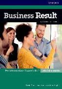 Cover-Bild zu Grant, David: Business Result: Pre-intermediate: Student's Book with Online Practice