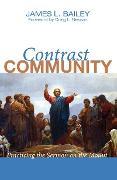 Cover-Bild zu Bailey, James L.: Contrast Community (eBook)