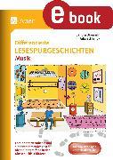 Cover-Bild zu Differenzierte Lesespurgeschichten Musik (eBook) von Blomann, Sandra