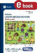 Cover-Bild zu Einfache Lesespurgeschichten Mathematik (eBook) von Blomann, Sandra