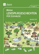 Cover-Bild zu Meine Lesespurgeschichten für Zuhause - Klasse 3-4 von Blomann, Sandra