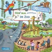 Cover-Bild zu Hofmann, Julia: Hör mal: Wimmelbuch: Im Zoo