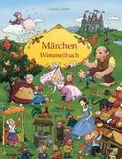 Cover-Bild zu Görtler, Carolin (Illustr.): Märchen Wimmelbuch für Kinder ab 3 Jahren (Bilderbuch ab 3 Jahre, Mein Gebrüder Grimm Märchenbuch)