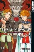 Cover-Bild zu Tabata, Yuki: Black Clover 14