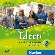 Cover-Bild zu Ideen 2. Audio-CDs zum Kursbuch von Krenn, Wilfried