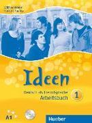 Cover-Bild zu Ideen 01. Arbeitsbuch mit Audio-CD von Krenn, Wilfried