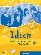 Cover-Bild zu Ideen 1. Arbeitsbuch mit Audio-CD zum Arbeitsbuch + CD-ROM von Krenn, Wilfried