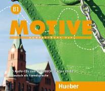 Cover-Bild zu Motive B1. Audio-CDs zum Kursbuch. Lektion 19-30 von Krenn, Wilfried