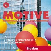 Cover-Bild zu Motive A1. Lektion 1-8. Audio-CDs zum Kursbuch von Krenn, Wilfried