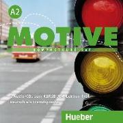 Cover-Bild zu Motive A2. Audio-CDs zum Kursbuch von Krenn, Wilfried
