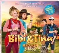 """Cover-Bild zu Bibi & Tina - Der Soundtrack zum 3. Kinofilm """"Mädchen gegen Jungs"""""""