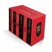 Cover-Bild zu Rowling, J.K.: Harry Potter Gryffindor House Editions Paperback Box Set