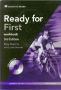 Cover-Bild zu Ready for First 3rd Edition Workbook + Audio CD Pack without Key von Norris, Roy